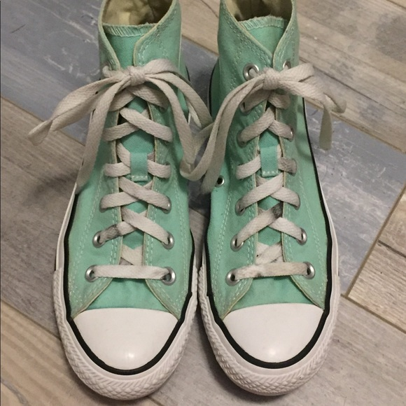Converse Shoes - Seafoam high tops 1716468ff